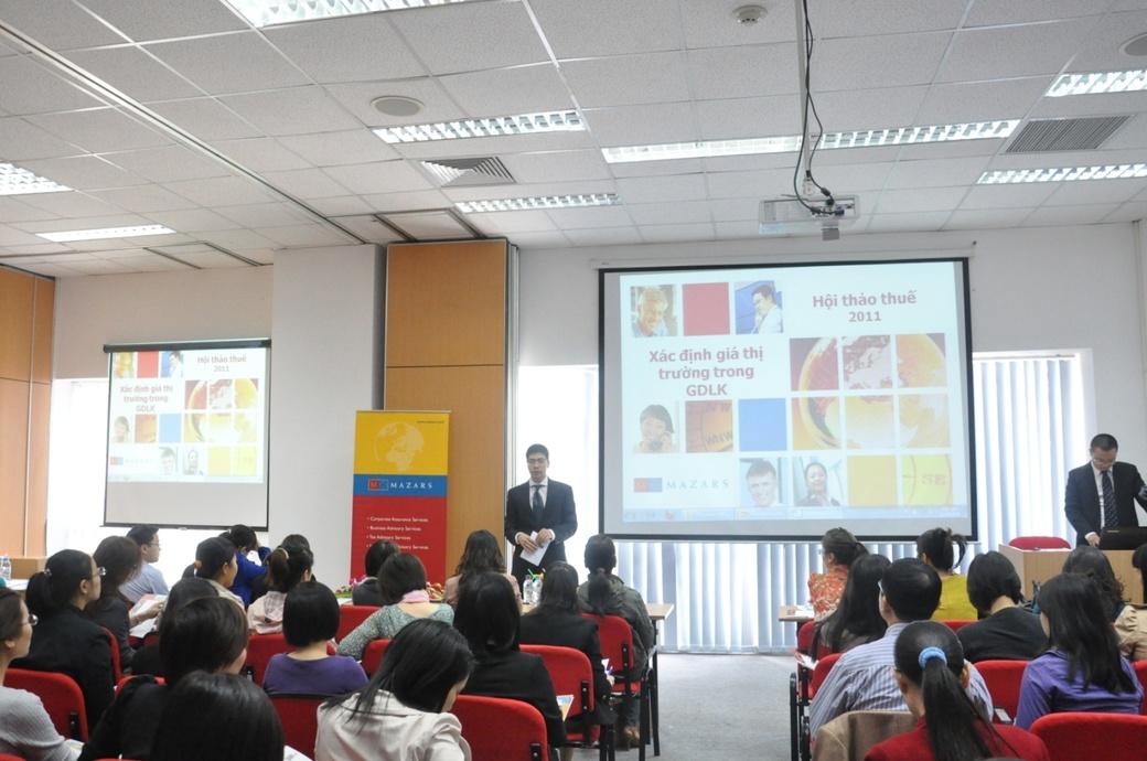 Seminar on Transfer Pricing held by Mazars Vietnam - Mazars
